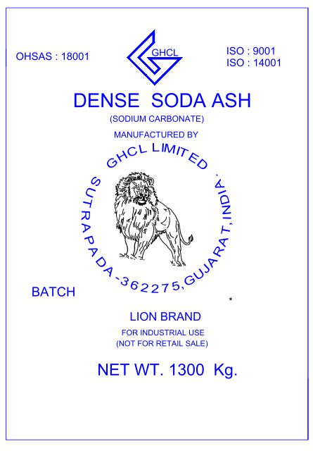 Dense Soda Ash Manufacturers In Patiala
